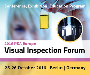 PDA Europe: Visual Inspection Forum